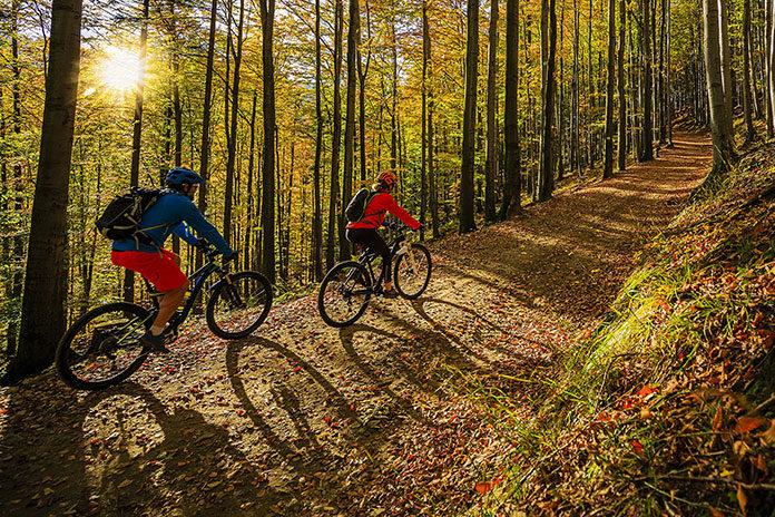 Wybierasz się na rower jesienią? Weź kamizelkę odblaskową!