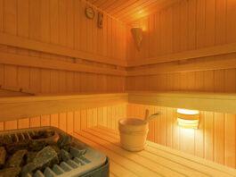 Sauna i jacuzzi w apartamecie